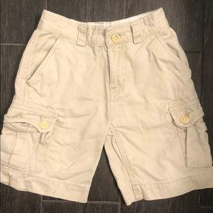 Boys Polo Ralph Lauren khaki cargo shorts size 4